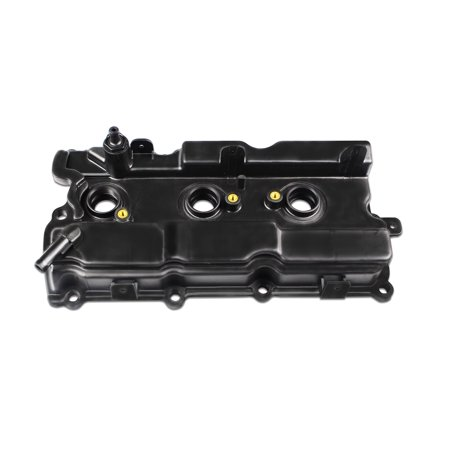 BOXI Valve Cover w/ Gasket & Spark Plug Tube Seals Fits Right Side Rear Of 3.5L Engine Bay 2002-2004 Infiniti I35, 02-06 Nissan Altima, 02- 08 Maxima, 03-07 Murano, 04-09 Quest (Replaces