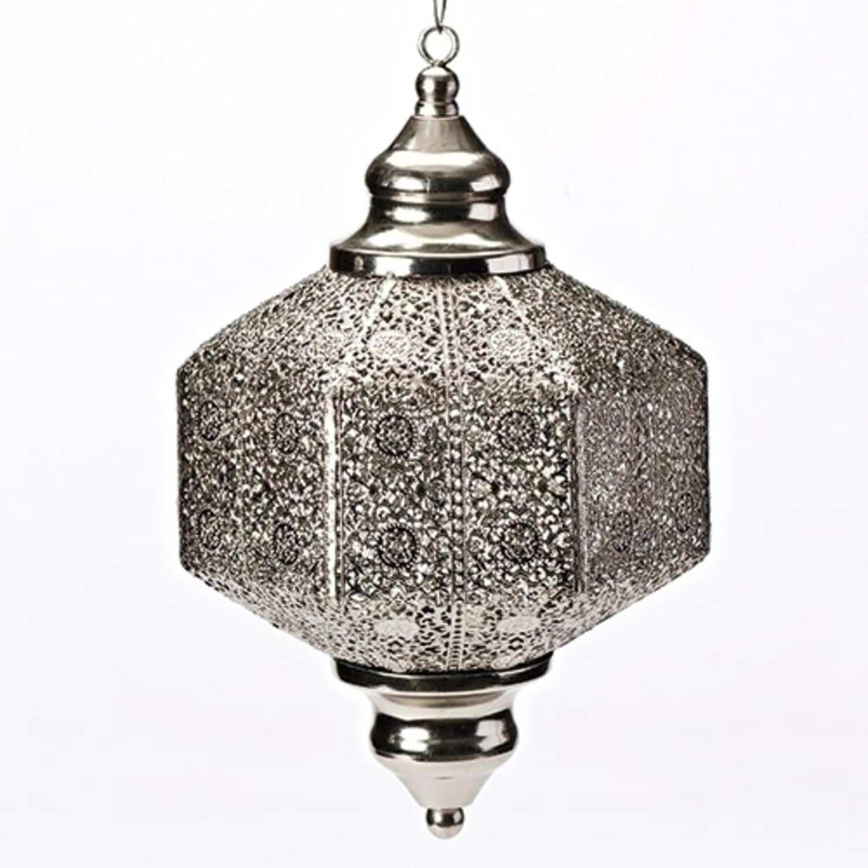 """11"""" Decorative Metal Hanging Lantern"""
