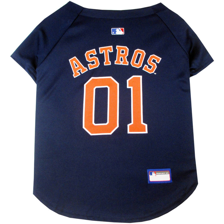 Pets First MLB Houston Astros Dog Jersey, XX Large
