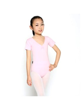de88215997a Product Image Baby Girls Kids Short Sleeve Leotard Clothes Ballet Dance  Dress Gymnastics Wear