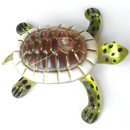 Blown Glass Hanging - Blown Glass Sea Turtle Hanging Ornament