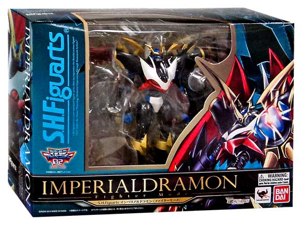Digimon S.H. Figuarts Imperialdramon Action Figure [Fighter Mode] by Tamashii Nations