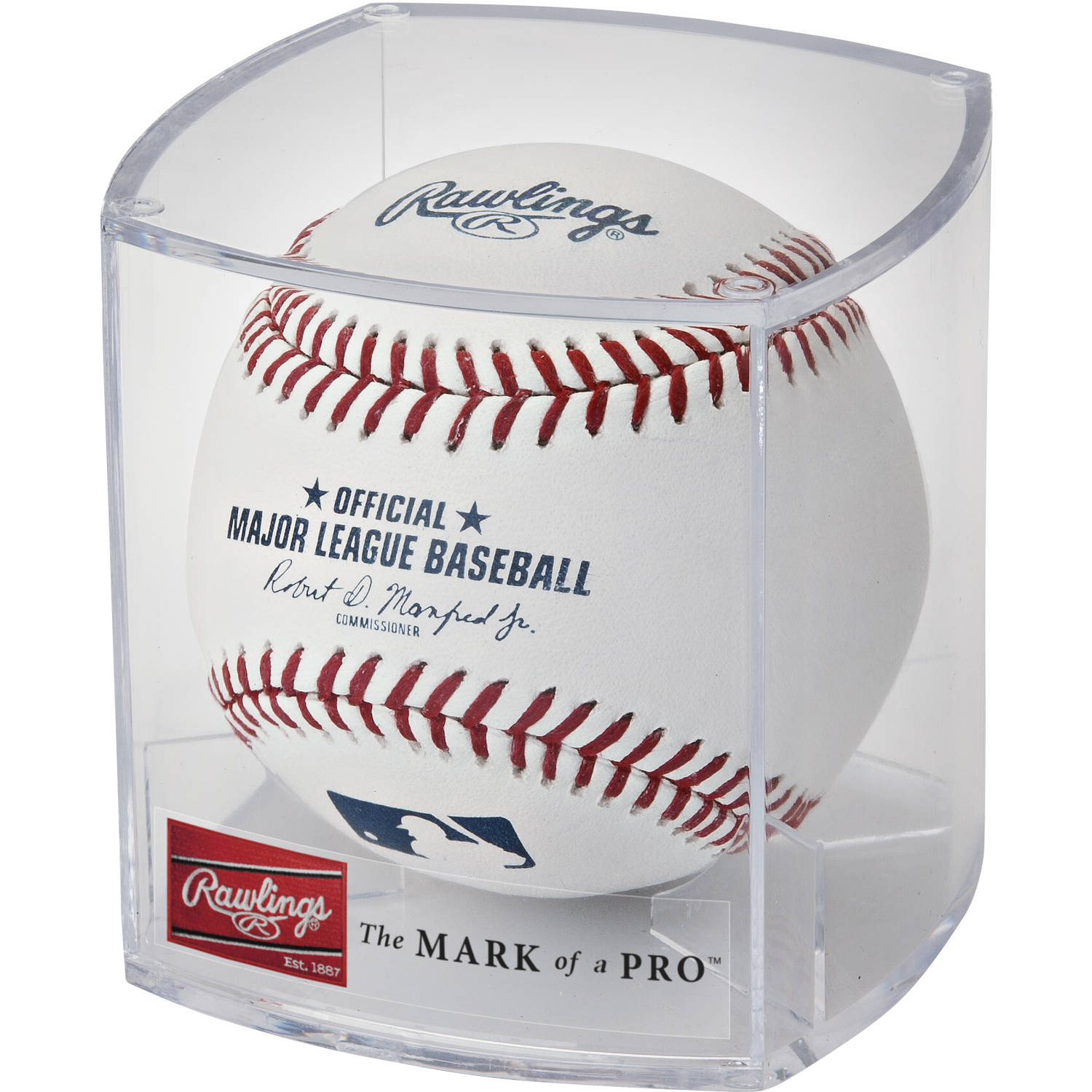 Rawlings Official MLB Baseball w/Display Cube (Singles)