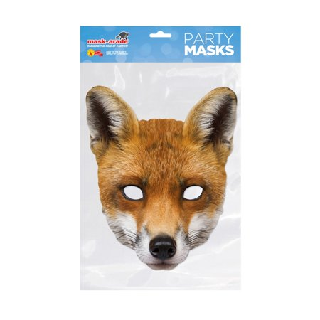 Fox Costume Accessories (Fox Facemask – Costume)