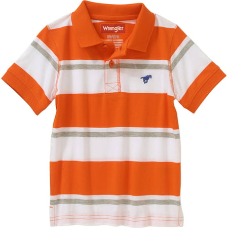 Generic Wrangler Toddler Boys' Short Sleeve Polo Shirt