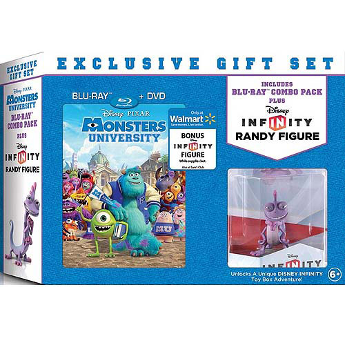 Monsters University (2-Disc Blu-ray + DVD + Infinity Randy Figure) (Widescreen)