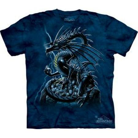 Skull Dragon Adult T-Shirt 102054