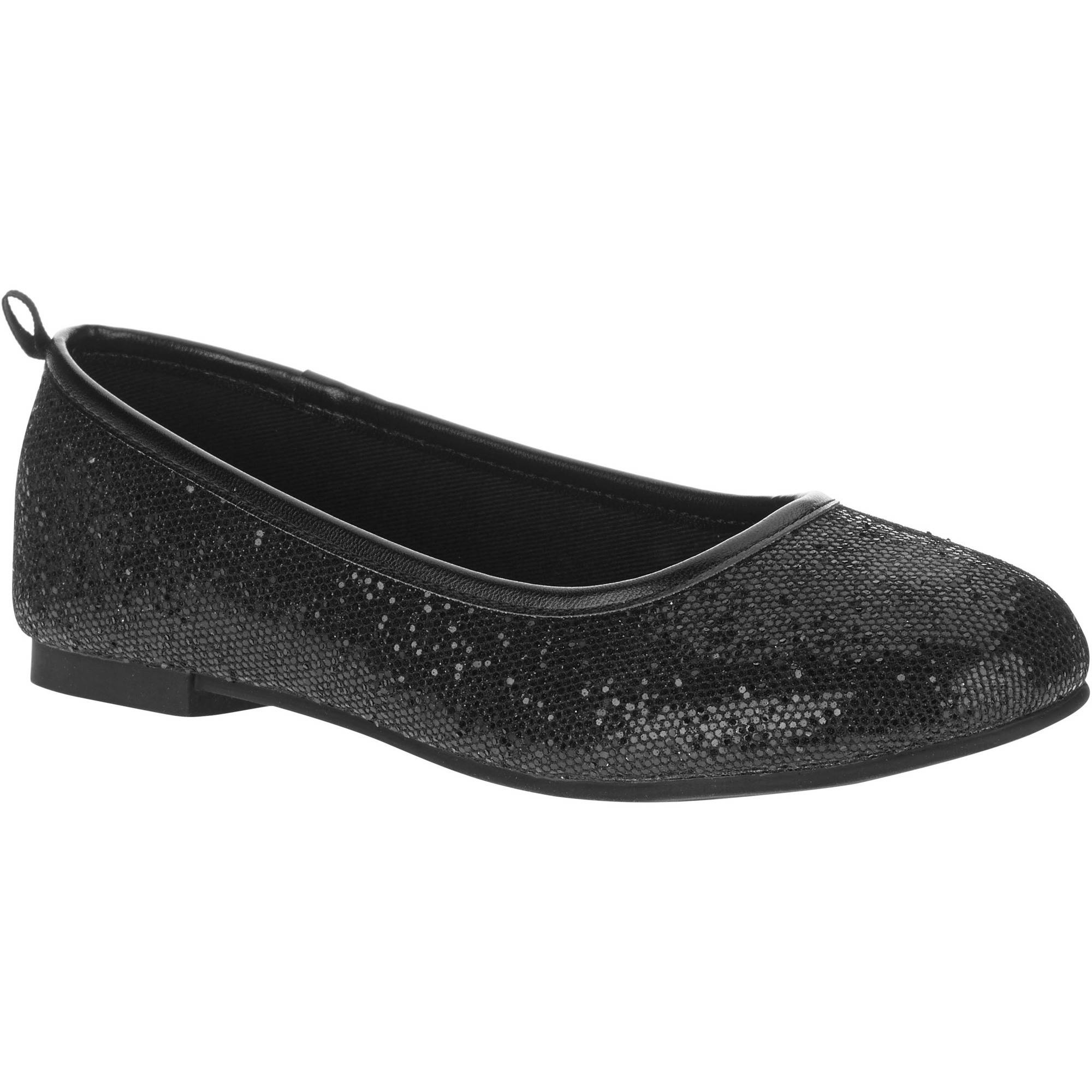 Faded Glory Girl's Sparkle Ballet Flat by