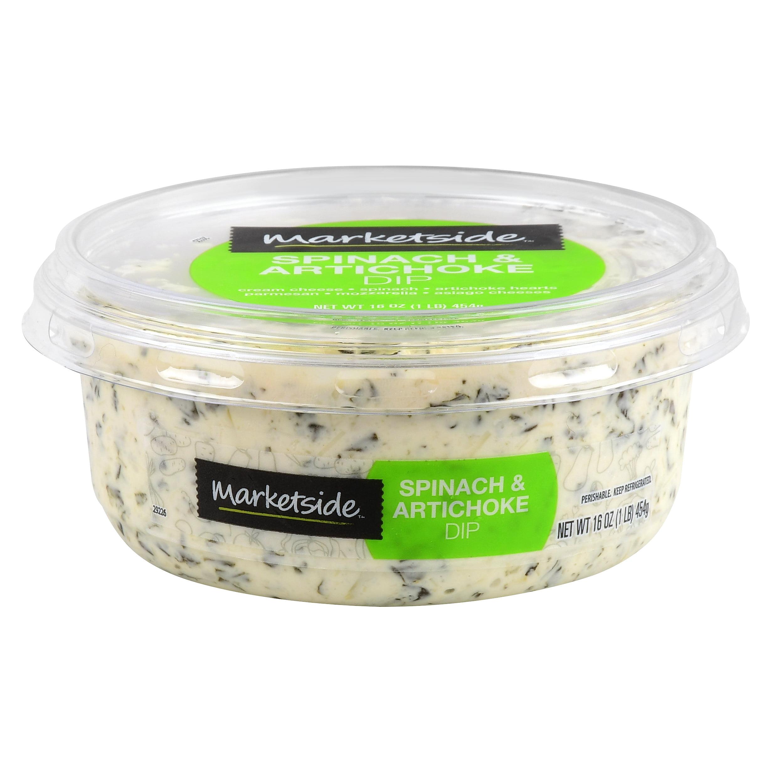 Marketside Spinach Artichoke Dip 16 Oz Walmart Com Walmart Com