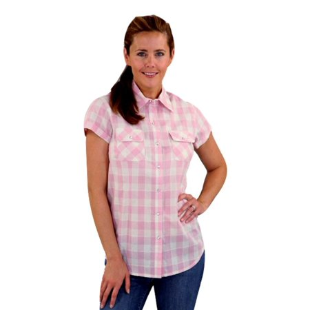 Outback Trading Shirt Womens S/S Simpson Desert Snap Up 42025