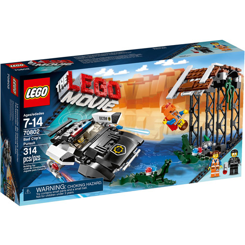 LEGO Movie Bad Cop's Pursuit Play Set - Walmart.com