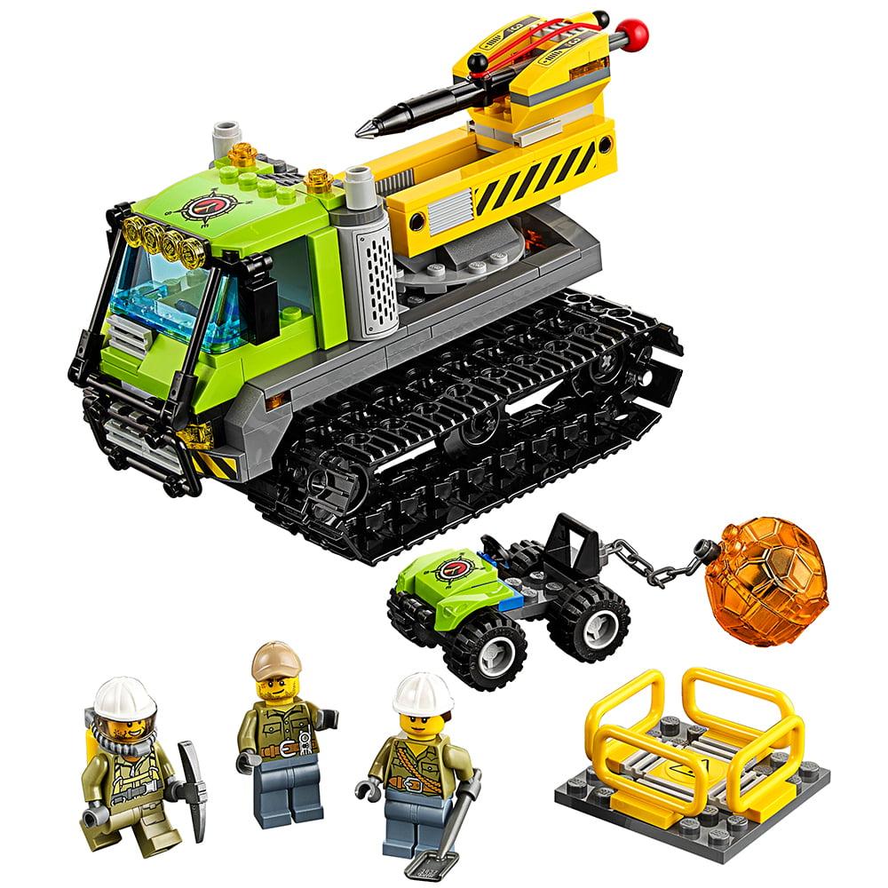 LEGO City Volcano Explorers Volcano Crawler 60122 - Walmart.com