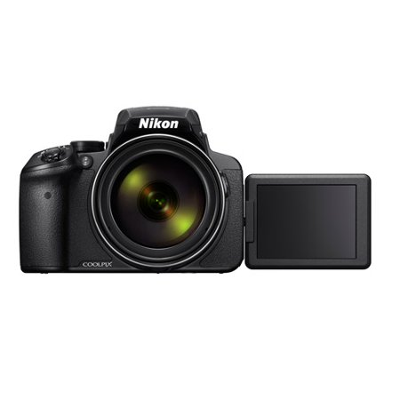 Nikon Silver COOLPIX P900 Digital Camera with 16 Megapixels and 83x Optical Zoom