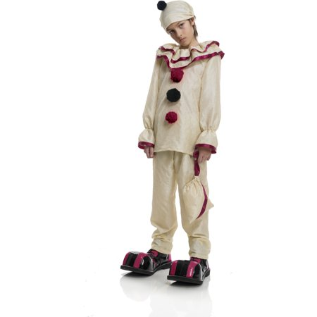 Child's Boys Evil Creepy Scary Carnival Circus Clown Costume - Scary Costumes For Babies
