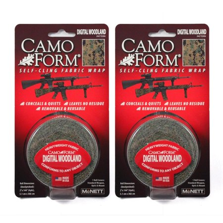 (2-PACK) Camo Form Protective Camouflage Wrap (Various - Camouflage Wrap