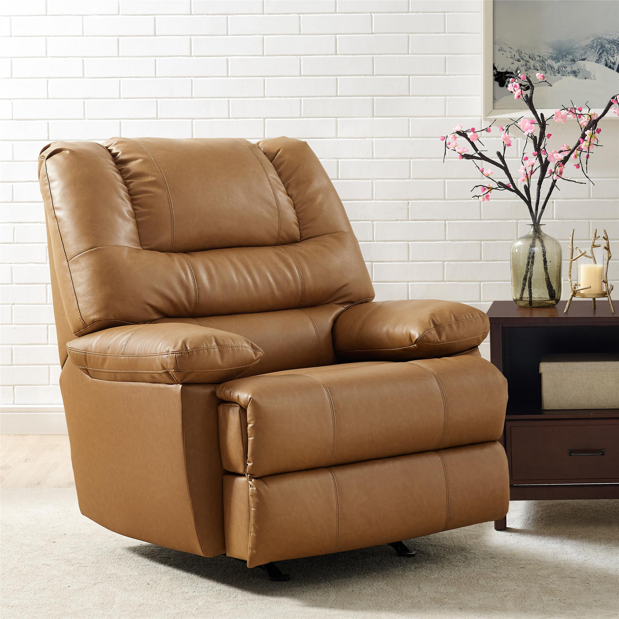 Better Homes & Gardens Moore Deluxe Rocking Recliner, Multiple Colors by Dorel Asia