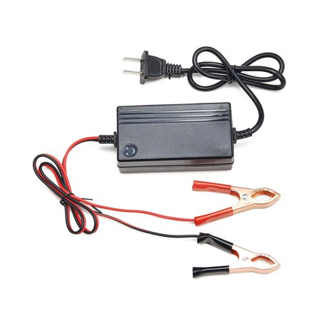 How To Charge A Car Battery Without A Charger >> Portable 12v Trickle Charger Battery Maintainer For Tender Motorcycle Car Boat Atv