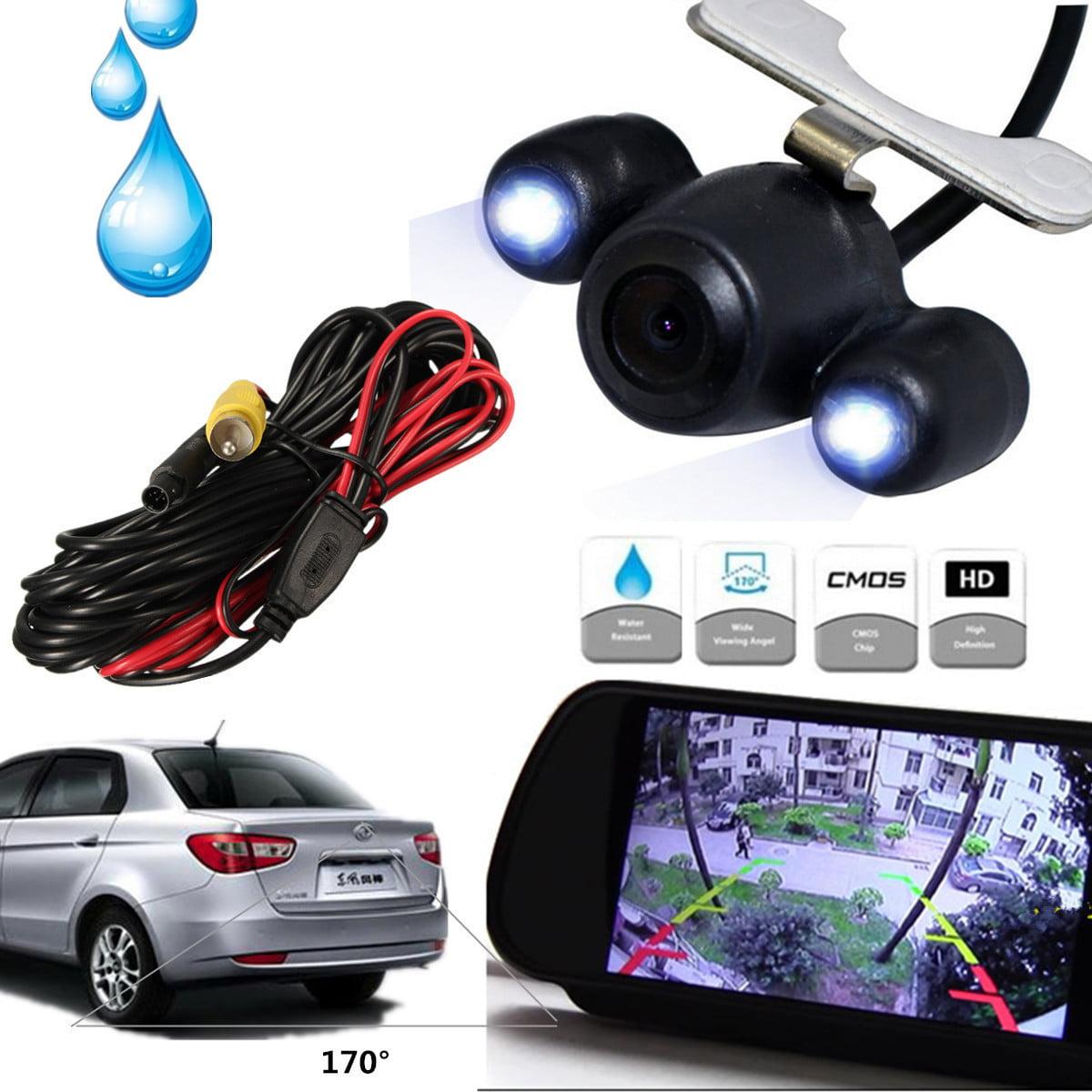 12V 170° Mini Color CMOS Reverse Backup Car Front Rear View Camera Night Vision