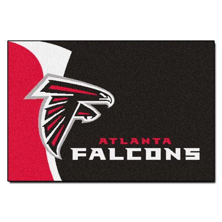 NFL Atlanta Falcons Starter Mat Rectangular Area (Atlanta Falcons Nfl Rug)