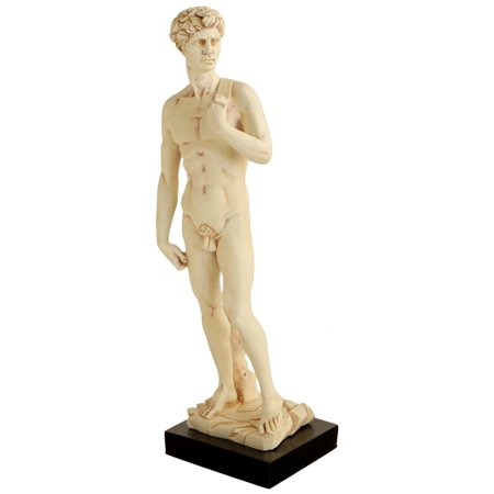 David by Michelangelo Statue, 15 Inches