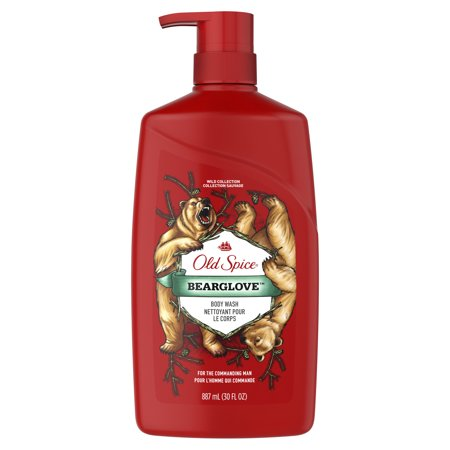 Old Spice Wild Collection Bearglove Body Wash Pump - 30 fl oz