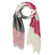 In Things Corp Handmade Saachi Women's Striped Patchwork Scarf (India)