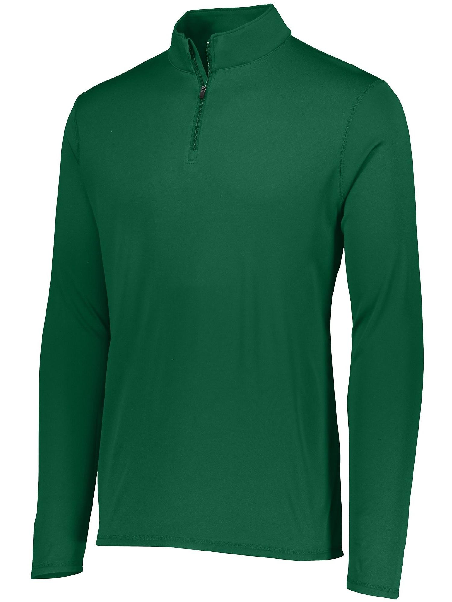 Augusta Sportswear M Boys Attain 1/4 Zip Pullover Kelly 2786