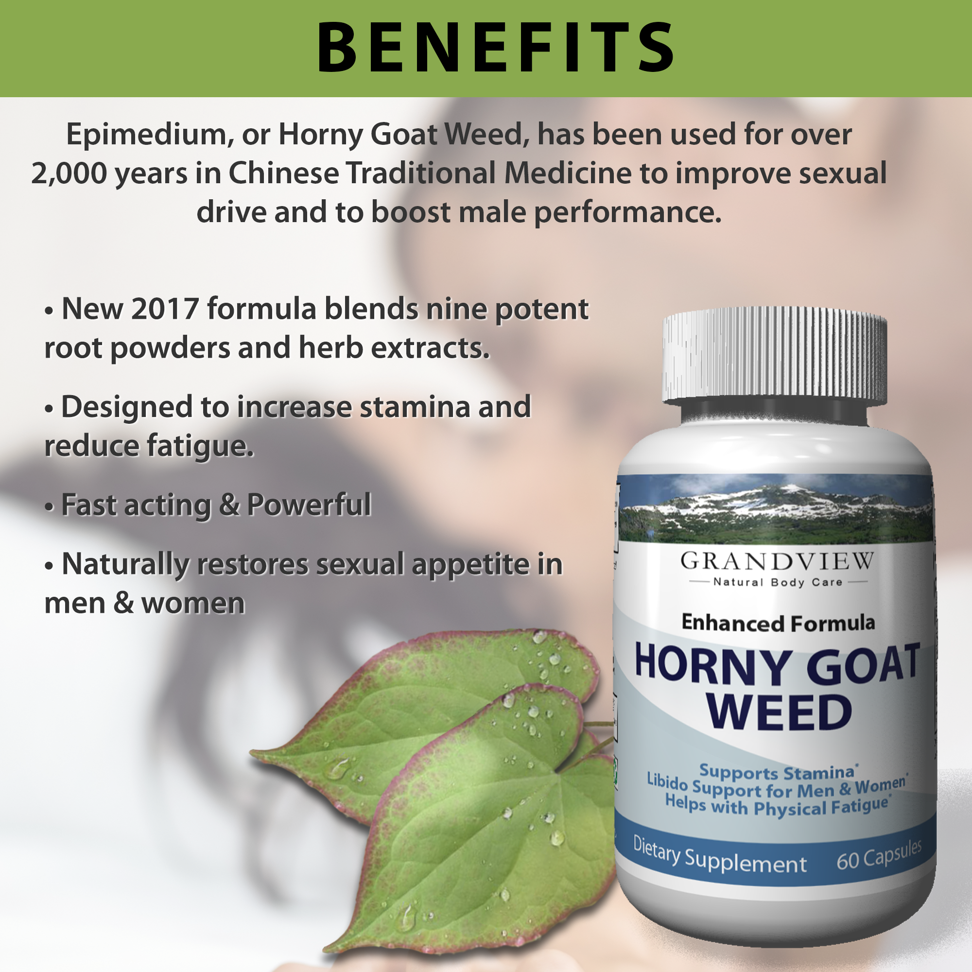 RETIRE Horny Goat Weed Best Performance & Natural Boost