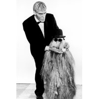 The Addams Family (1964) Ted Cassidyas Lurch with Cousin It 24x36 Poster