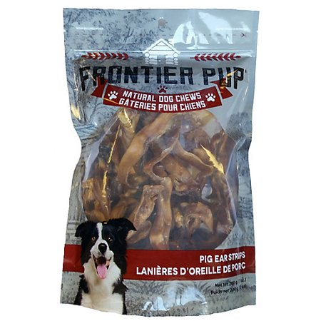 Frontier Pup Pig Ear Strips Dog Chews](Yoda Ears For Dog)