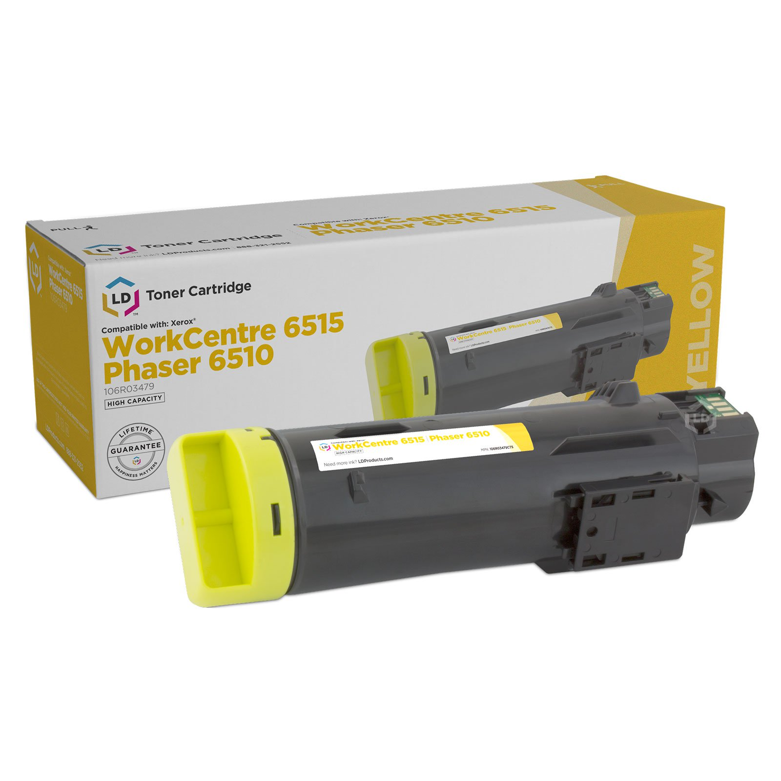 Start Compatible for Xerox Phaser 6510 Workcentre 6515 Yellow 106R03475 Toner Cartridge