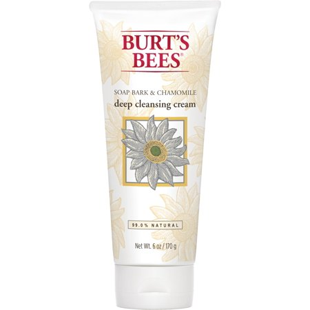 Burt's Bees Soap Bark and Chamomile Deep Cleansing Cream, 6 Ounces ()