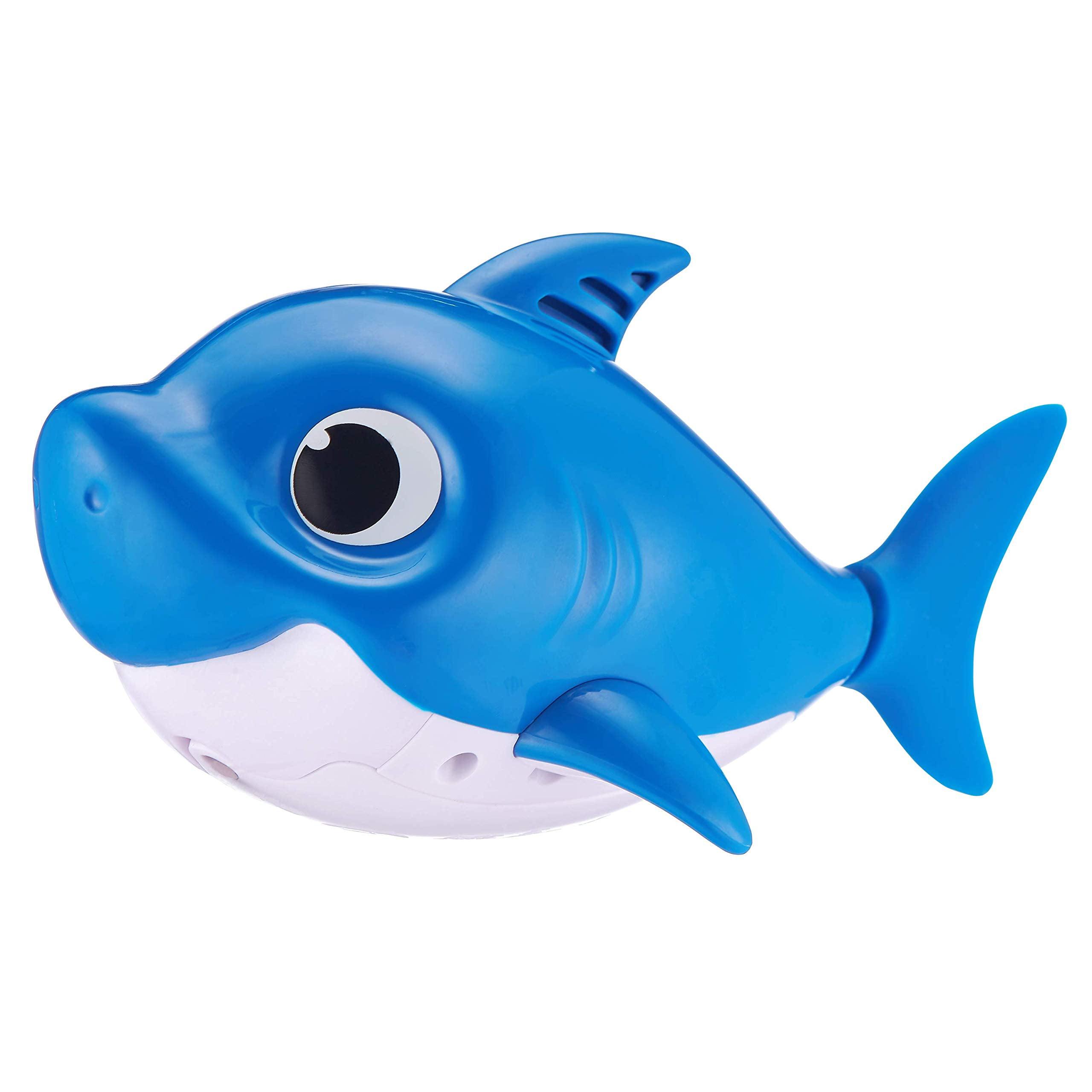 Baby Shark Daddy Shark Blue Robo Alive Junior Sing /& Swim Bath Toy