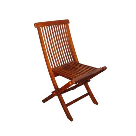 5 Piece Oval Basic Nyatoh Wood and Natural Sunbrella Patio Furniture Set 7.5'