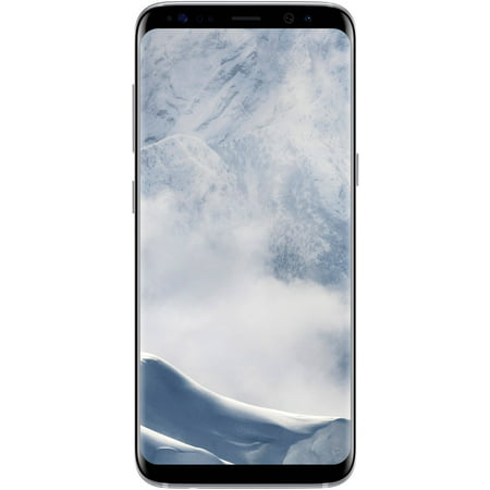 Straight Talk Samsung Galaxy S8 64GB Prepaid Smartphone, Silver (Pink Straight Talk Phones)