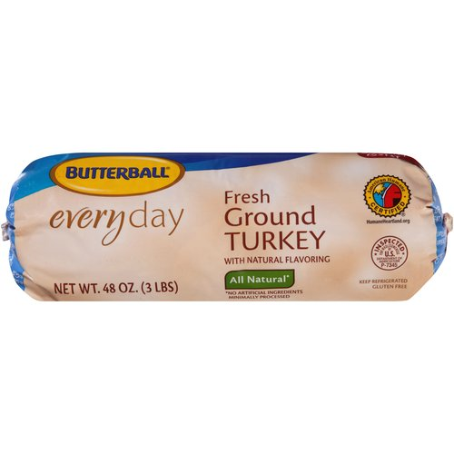 Butterball  Fresh 85%  Ground Turkey 3.0 lbs