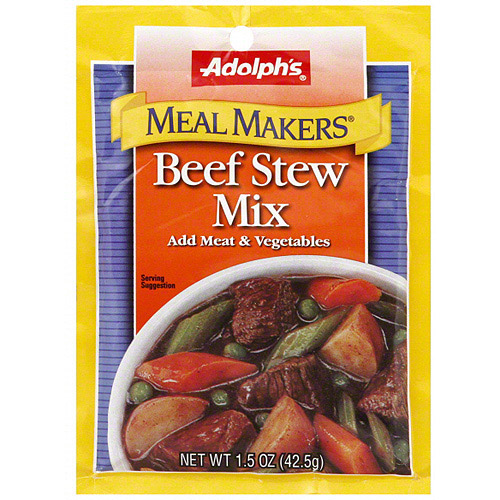 Adolph's Meal Makers Beef Stew Mix, 1.5 oz (Pack of 24) by Generic