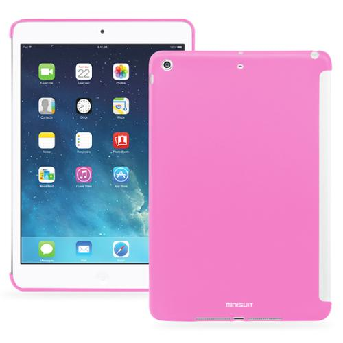 Minisuit Buddy Case Back Cover for iPad Air 1 (Smart Cover Compatible) Pink