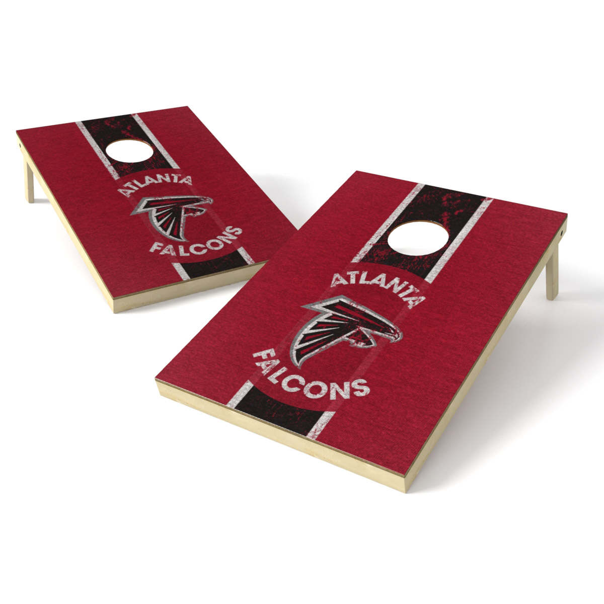 Atlanta Falcons 2' x 3' Heritage Shield Tailgate Toss Game - No Size