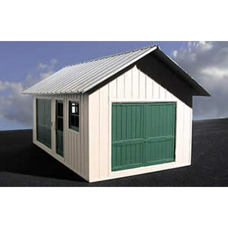 O Ameri-Towne: Trackside Shed 1-Story Building Kit