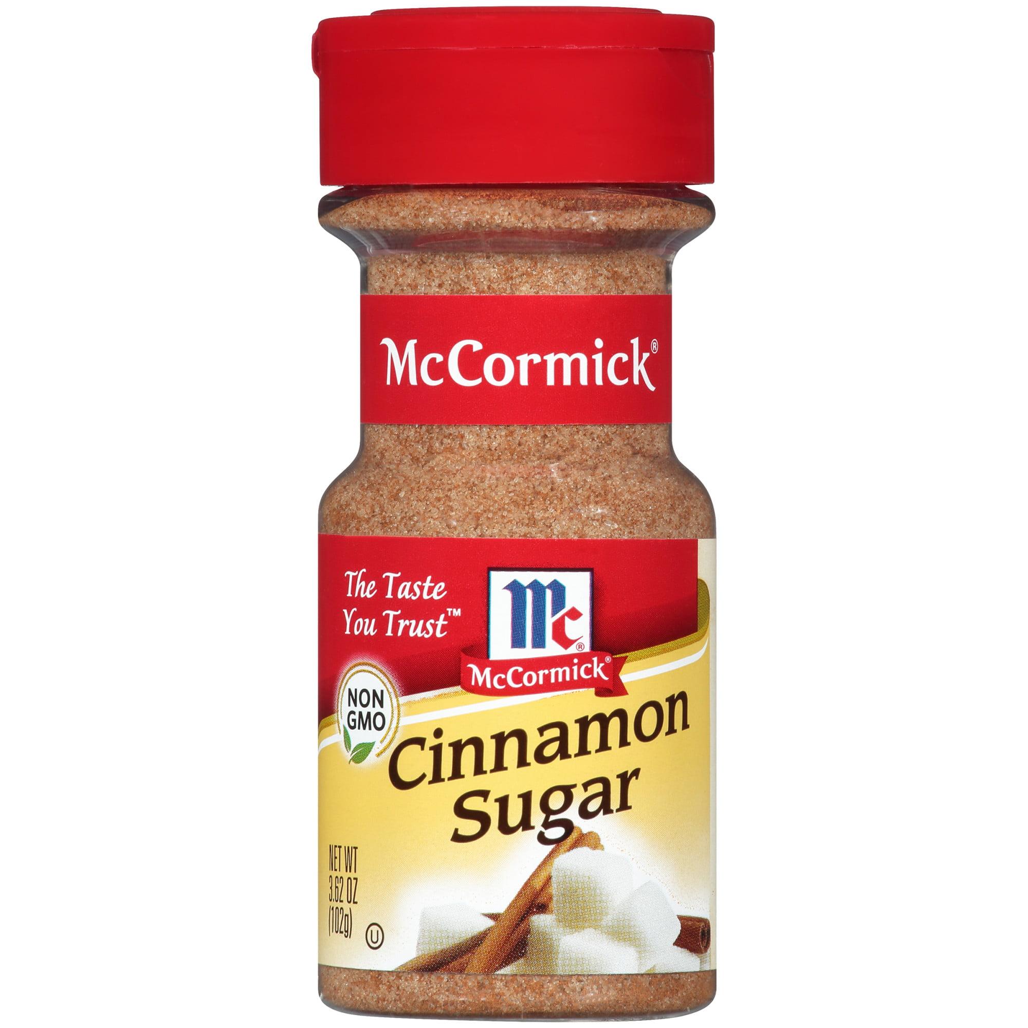 (2 Pack) McCormick Cinnamon Sugar, 3.62 oz