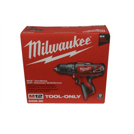 - Milwaukee 2408-20 M12 12V 3/8