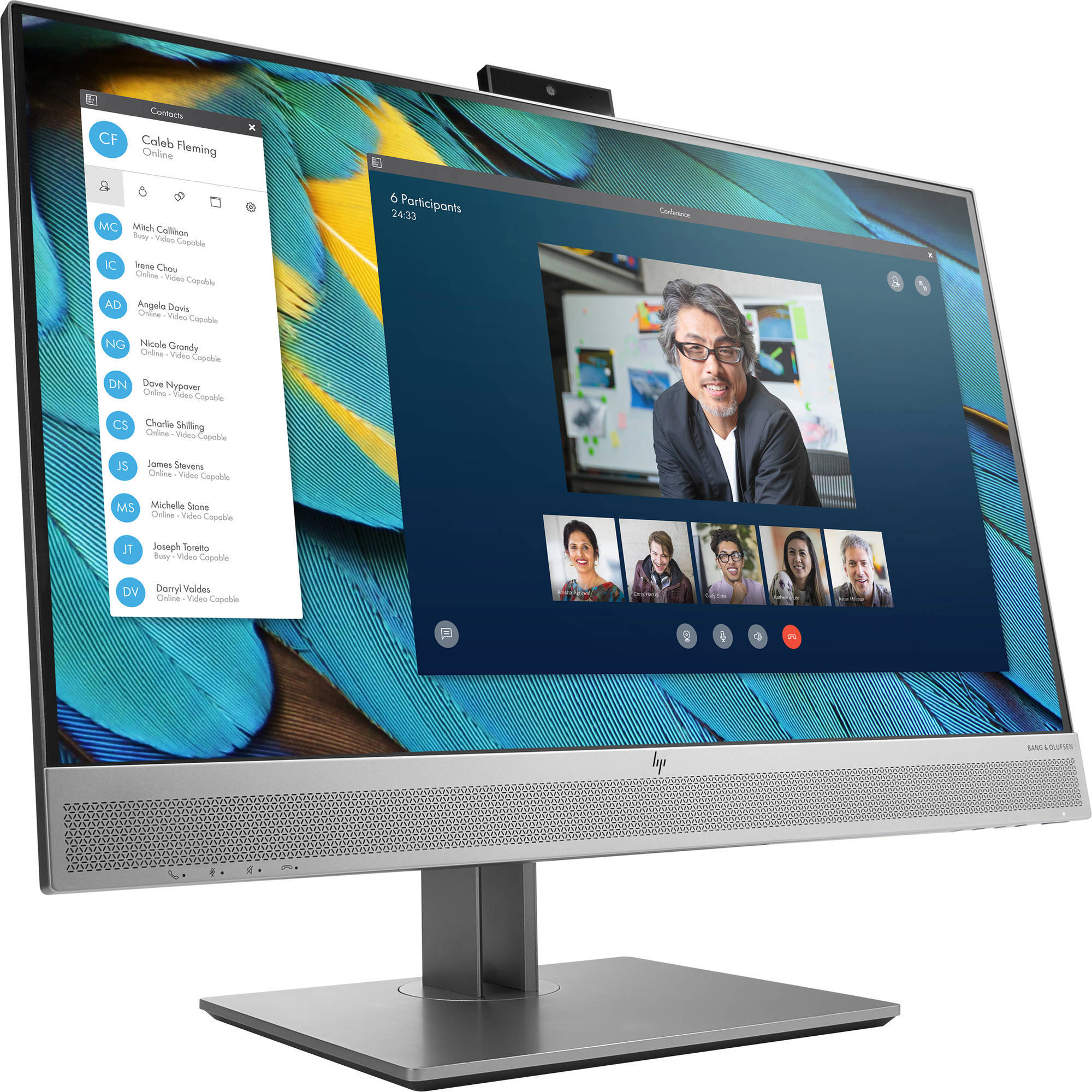 HP EliteDisplay E243m 23.8-inch Monitor (1FH48A8)