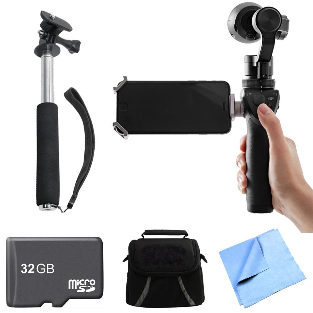 DJI Osmo Handheld 4K Camera and 3-Axis Gimbal Professional Kit