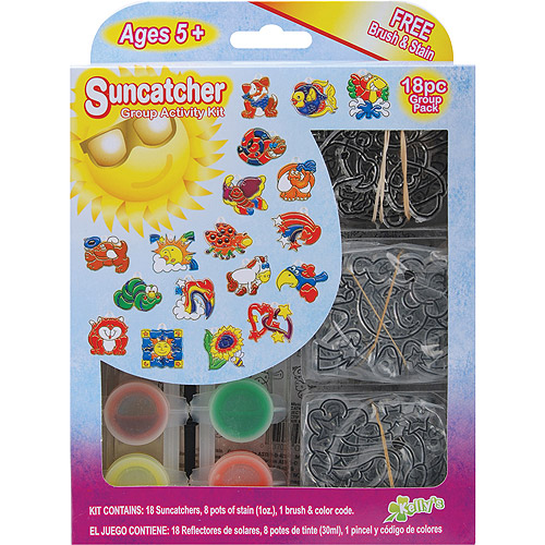 Suncatcher Group Activity Kit, Fun Animal 18/pkg