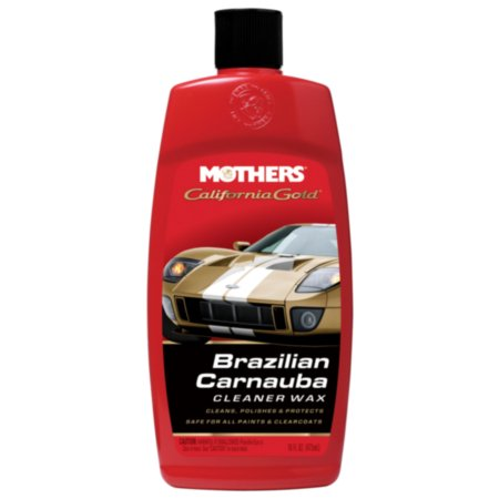 Mothers California Gold California Gold Liquid Carnauba Cleaner Wax - Designed to be one-step plan for paint care - Removes oxidation and restores the color, 16 oz bottle, sold by (Best Liquid Carnauba Wax)