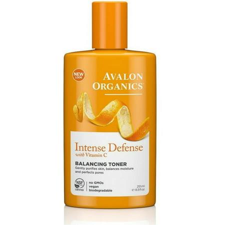 Avalon Organics Intense Defense with Vitamin C Balancing Toner 8.50