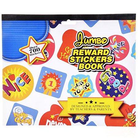 Ram-Pro Over 700 Reward Stickers Book - Science Stickers for Teachers Teacher Stickers for Kids Star Stickers for Teachers Classroom Toddler Reward Stickers, Book of Stickers for Teachers Outline Stickers Stars