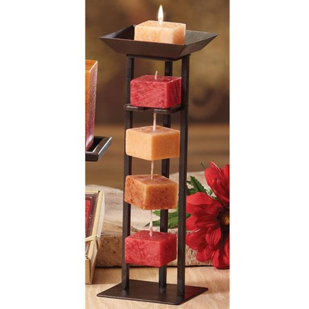 """Pack of 6 Naturals Harmony """"Tranquility"""" Aromatherapy Rope Candles"""