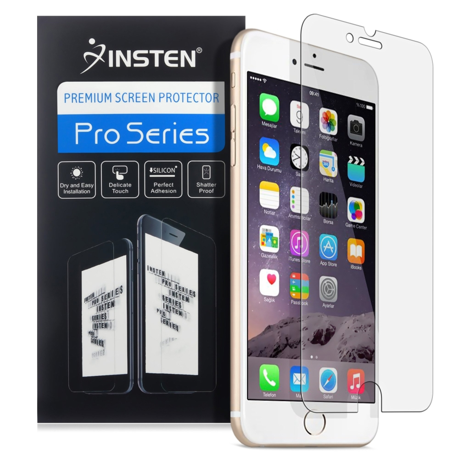 Insten (2-pack) Ultra Clear HD Screen Protector Guard For Apple iPhone 8 Plus / iPhone 7 Plus 5.5 Inch